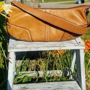 New! Franco Sarto Saddle bag leather shoulder bag